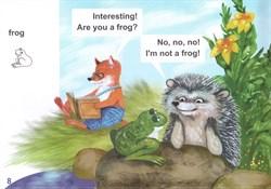 """Сказка """"A little fox and a hedgehog"""". Story 8 - фото 3878"""