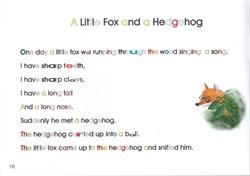 """Сказка """"A little fox and a hedgehog"""". Story 8 - фото 3879"""