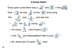 """Сказка """"A greedy rabbit"""". Story 5 - фото 3937"""