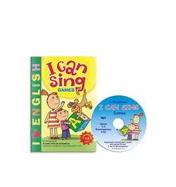 I CAN SING Games книга для ребенка + МР3 - фото 3959